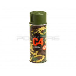 Armamat bombe de peinture militaire C4 extra mat RAL 6003 vert olive -