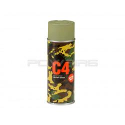 Armamat bombe peinture militaire C4 extra mat RAL 6013 vert jonc -