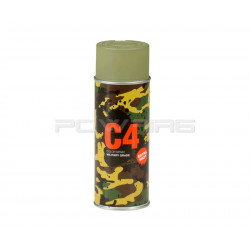 Armamat C4 Mil Grade extra mat Color Spray RAL 6003 green rush - Powair6.com