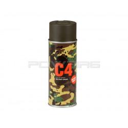 Armamat bombe peinture militaire C4 extra mat RAL 6014 Olive jaune -