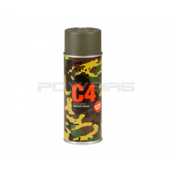 Armamat bombe peinture militaire C4 extra mat RAL 7013 gris brun -