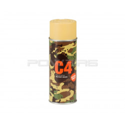 Armamat C4 Mil Grade extra mat Color Spray RAL 1002 Sand yellow -
