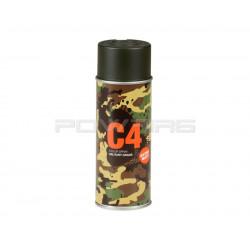Armamat bombe peinture militaire C4 extra mat RAL 6006 olive gris -