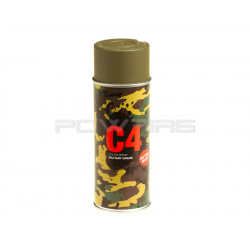 Armamat bombe peinture militaire C4 extra mat RAL 6040 olive clair