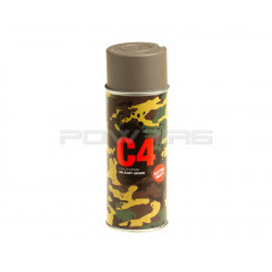 Armamat C4 Mil Grade extra mat Color Spray RAL 6040 German grey beige -