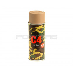 Armamat C4 Mil Grade extra mat Color Spray RAL 8031 German sand beige -