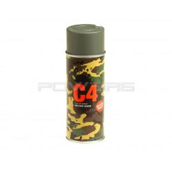Armamat bombe peinture militaire C4 extra mat Foliage Green -