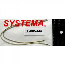 Systema paire de cables moteur pour Systema PTW M4