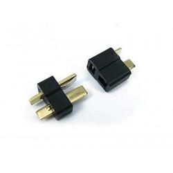 Paire de connecteurs mini T-PLUG (mini-deans) - Powair6.com