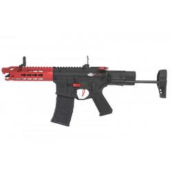 VFC Avalon Leopard CQB AEG Rouge (mosfet intégré + mallette rigide)