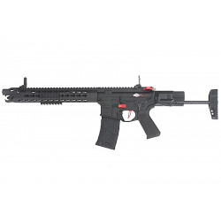 VFC Avalon Leopard Carbine AEG black with hard case -