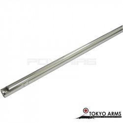 Tokyo Arms canon de précision inox 6.01mm pour AEG - 304mm
