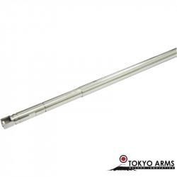 Tokyo Arms canon de précision inox 6.01mm pour KSC GBB - 448mm -