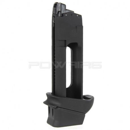 Cybergun chargeur CO2 pour GLOCK 19 - Powair6.com