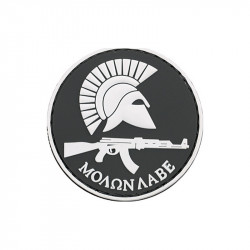 Patch velcro Molon LABE AK