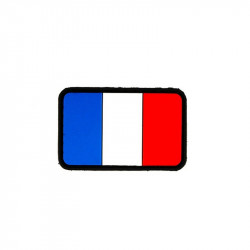 French flag Velcro patch