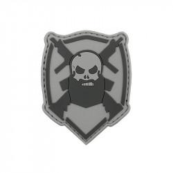 Beard and Gun Velcro patch