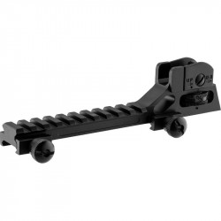 UTG Rear Sight & rail for AR15 - Powair6.com