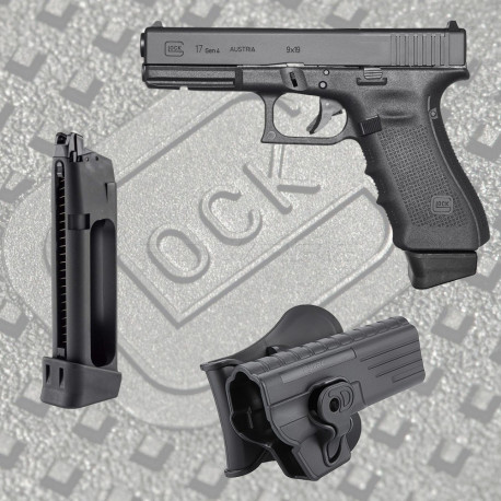 Starter pack GBB Glock 17 GEN4