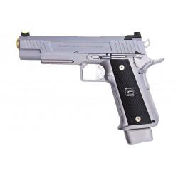 EMG SAI 5.1 Gas Blowback Pistol - Silver