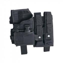 ASG holster de cuisse avec porte chargeur pour Scorpion / M11 / MP7 / MP5K / VZ61