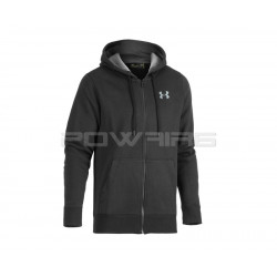 Under Armour Storm rival fleece zip hoodie Black -