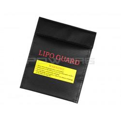 Sac ignifugé pour batterie LIPO 18x22cm -