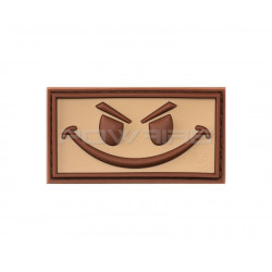Evil Smiley velcro patch (selectable)