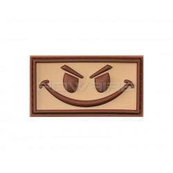 Patch Velcro Evil Smiley (sélectionnable)