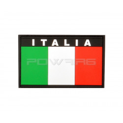 Italia Flag velcro patch (selectable)