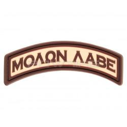 Patch Velcro Molon Labe tab (sélectionnable)