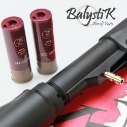 Balystik Valve HPA sans perçage pour shotgun SECUTOR (US) - Powair6.com