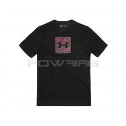 Under Armour T-shirt Camo Boxed Logo - Powair6.com