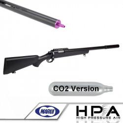 Tokyo Marui VSR-10 G-SPEC HPA CO2 powered (Black) - AIRSOFT