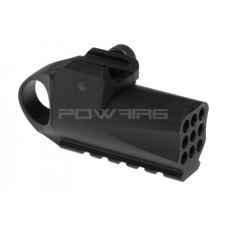 ZOXNA mini lance grenade a gaz (noir)