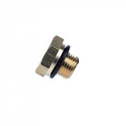 P6 plug screw 1/8 NPT with seal - Powair6.com