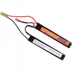VB Power batterie lipo 7.4v 2000mah 15C 2 sticks mini Tamiya - Powair6.com