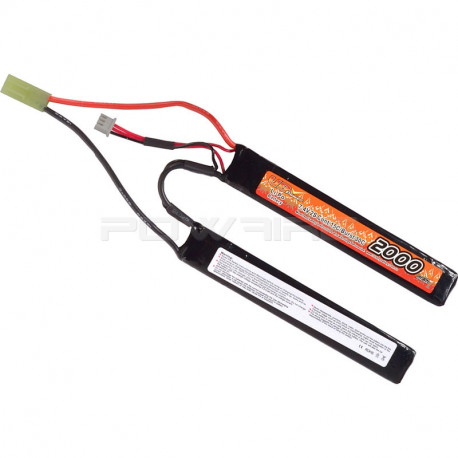 VB Power batterie lipo 7.4v 2000mah 15C 2 sticks mini Tamiya