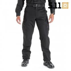 5.11 Pantalon TDU Ripstop régular (Noir) -