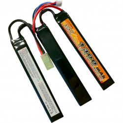 VB Power batterie lipo 11.1v 1300mah 15C 3 sticks - Powair6.com