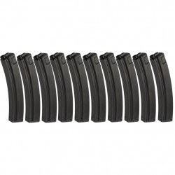 G&P 100rds Mid Cap metal Magazine for MP5 Series (pack of 10) - Powair6.com