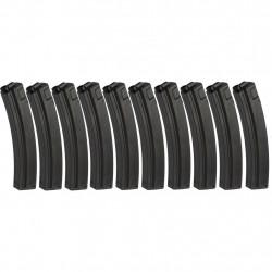 G&P chargeur 100 coups metal pour MP5 (pack de 10) - Powair6.com