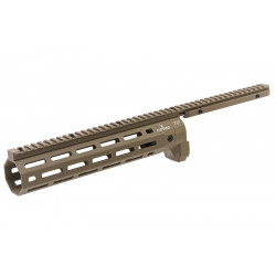 ARES Amoeba CNC M-Lok Handguard STRIKER - Dark Earth -
