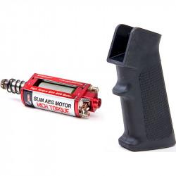 ARES M4 Slim Pistol Grip + High Torque Slim AEG Motor - Powair6.com