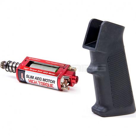 ARES M4 Slim Pistol Grip + High Torque Slim AEG Motor