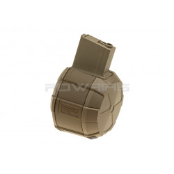 ICS Drum Mag M4 1800rds - DE -