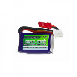 Nano-Tech 7.4V 180MAH micro lipo battery - special use for HPA Engine - Powair6.com