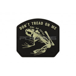 Patch velcro Don't Tread on me Frog (sélectionnable)