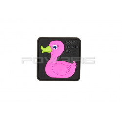 Patch velcro Tactical Rubber Duck pink