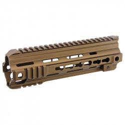 VFC RIS 416 9 inch Keymod pour M4 AEG / GBBR - FDE - Powair6.com